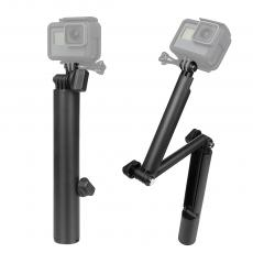 SHOOT New Style Action Camera Handlebar Go Pro 3-way Grip Arm Tripod 3 Way Monopod For Gopro