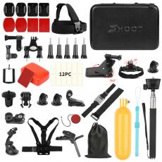 SHOOT Gopros Accessories Kit, Gopros Camera Accessories Set Manufacturer