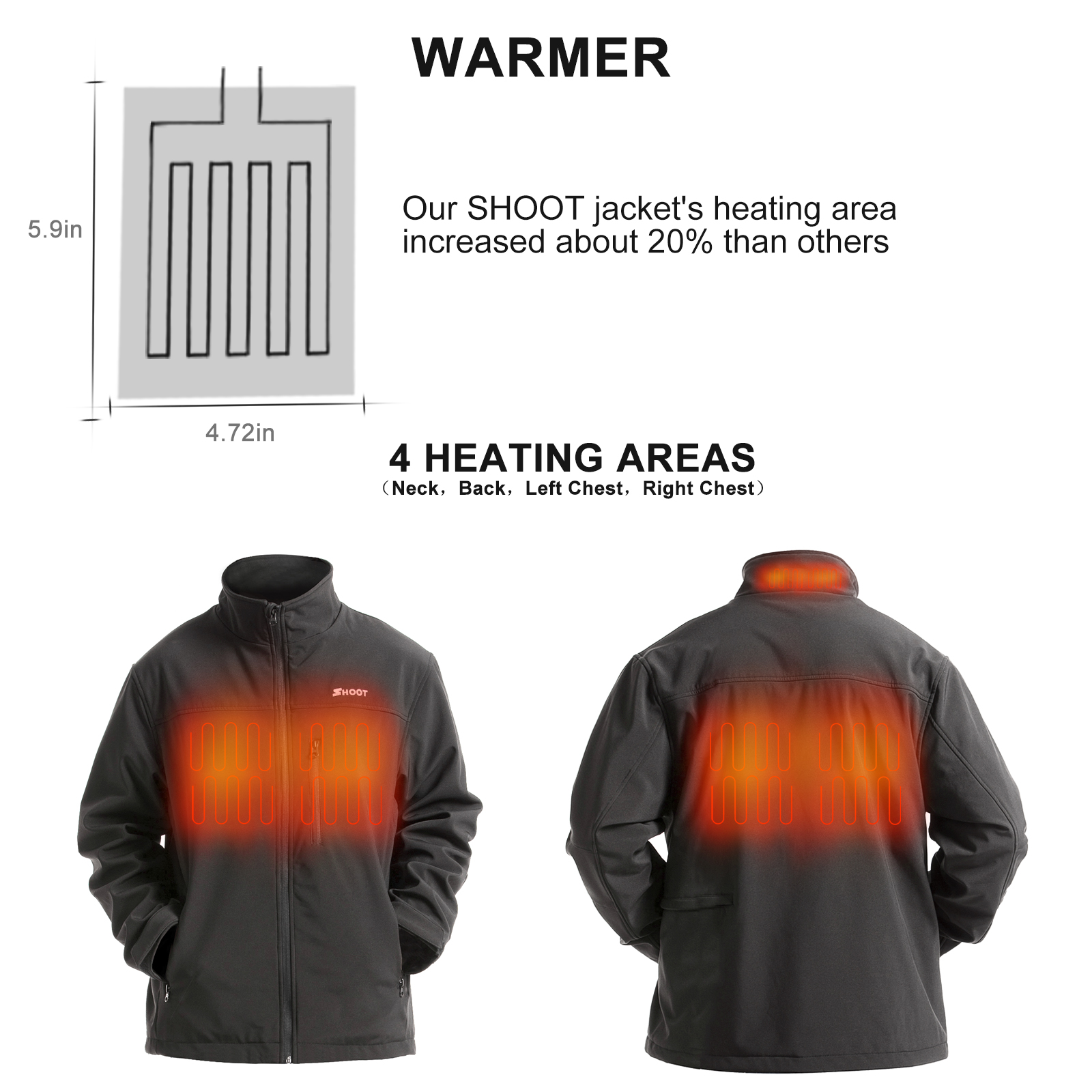 Heated Softshell Jackets
